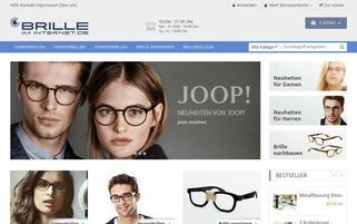 Brille-Im-Internet Webseiten Screenshot