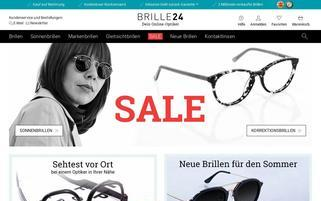 Brille24.de Webseiten Screenshot