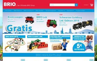 BRIO Webseiten Screenshot