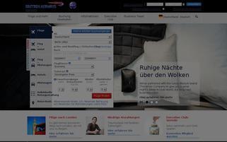 British Airways Webseiten Screenshot