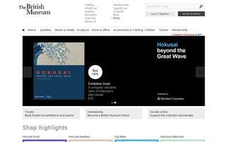 British Museum Webseiten Screenshot