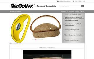 BroDoMax Webseiten Screenshot