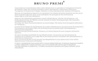 Bruno Premi Webseiten Screenshot
