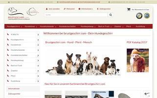 brustgeschirr.com Webseiten Screenshot