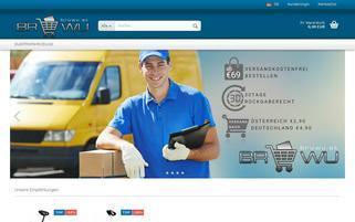 bruwu.at Webseiten Screenshot