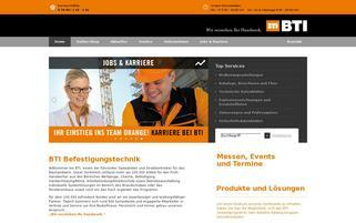 bti.de Webseiten Screenshot
