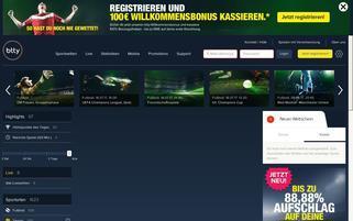 btty Webseiten Screenshot