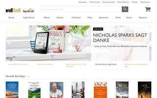 Buch.ch Webseiten Screenshot