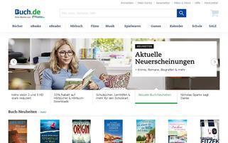 Buch.de Webseiten Screenshot