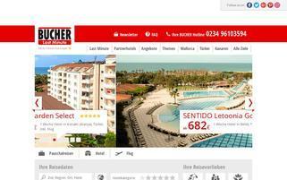 Bucher Webseiten Screenshot