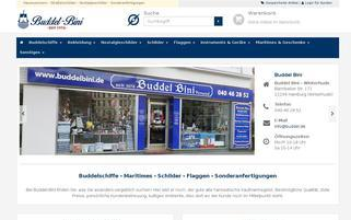 Buddelbini Webseiten Screenshot