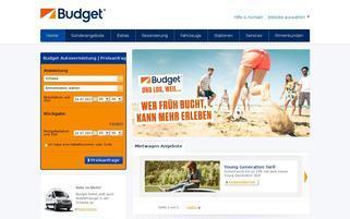 Budget Schweiz Webseiten Screenshot