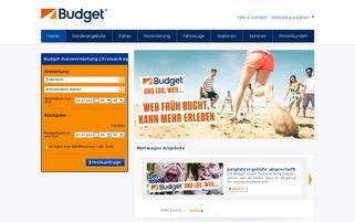 Budget Österreich Webseiten Screenshot