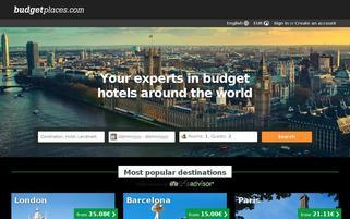 budgetplaces Webseiten Screenshot