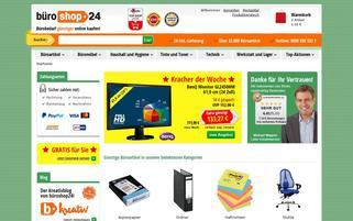 Büroshop24 Webseiten Screenshot
