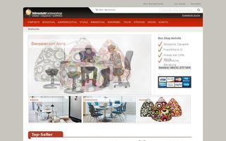 Bürostuhl Onlineshop Webseiten Screenshot