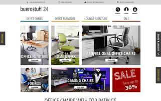 Buerostuhl24 Webseiten Screenshot