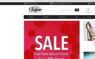 Buffalo AT Webseiten Screenshot
