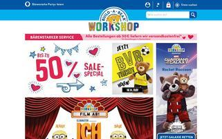 Build A Bear Webseiten Screenshot