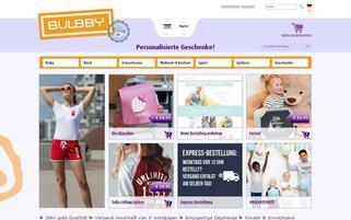 BULBBY Webseiten Screenshot