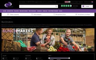 Bunchmakers Webseiten Screenshot