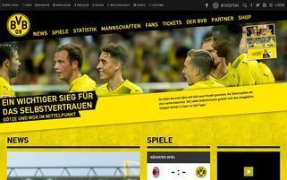 BVB Webseiten Screenshot