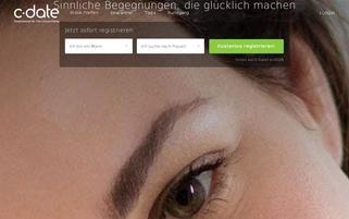 C-Date Webseiten Screenshot
