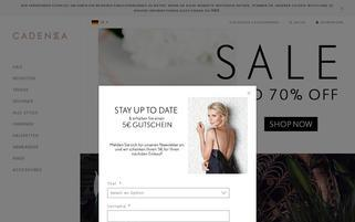 cadenzza.at Webseiten Screenshot
