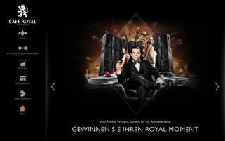 Cafe Royal Webseiten Screenshot