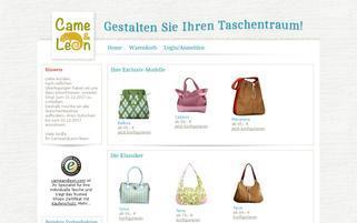 Came & Leon Webseiten Screenshot