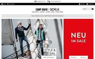 Camp David Webseiten Screenshot