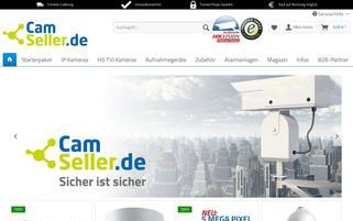 camseller.de Webseiten Screenshot