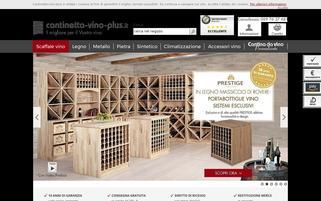 cantinetta-vino-plus.it Webseiten Screenshot