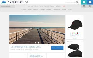 cappellishop.it Webseiten Screenshot