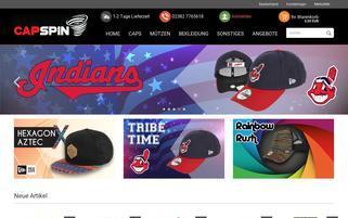 CapSpin.de Webseiten Screenshot