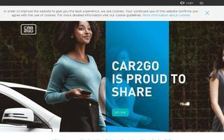 car2go Webseiten Screenshot