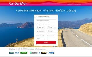 CarDelMar Webseiten Screenshot