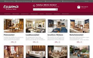 Casamia Webseiten Screenshot