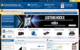 Caseking Webseiten Screenshot