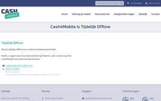 Cash4Mobile Webseiten Screenshot