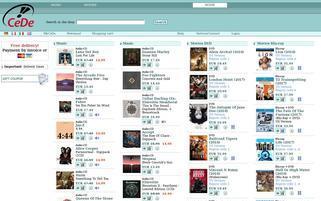 CeDe Webseiten Screenshot