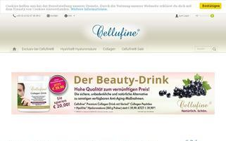 cellufine.de Webseiten Screenshot