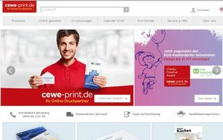 CEWE PRINT Webseiten Screenshot
