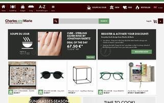 Charlesandmarie Webseiten Screenshot