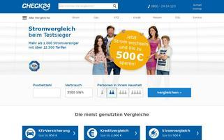CHECK24 Webseiten Screenshot