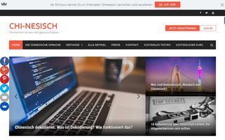 chi-nesisch.de Webseiten Screenshot