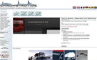 chromstadt.de Webseiten Screenshot