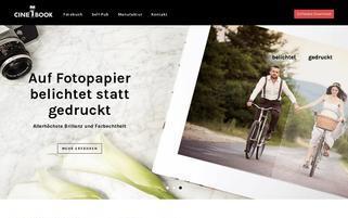 Cinebook Webseiten Screenshot