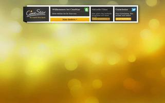 CineStar Webseiten Screenshot