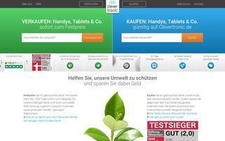 Clevertronic Webseiten Screenshot